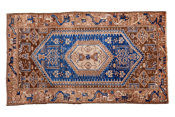 3x6 Vintage Hamadan Style Rug Runner - Old New House