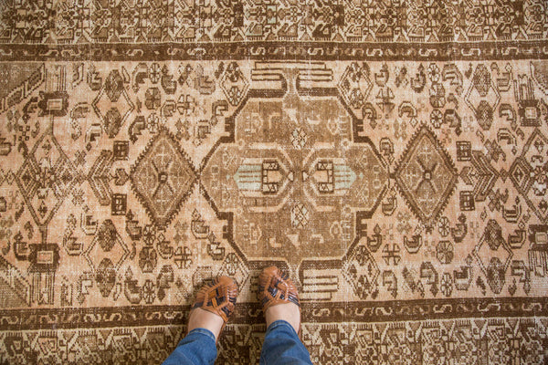 4x7.5 Distressed Malayer Style Rug - Old New House