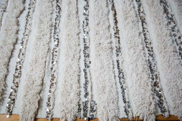 Vintage Wedding Blanket Rug