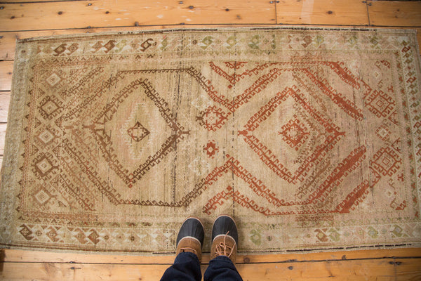 Distressed Vintage Afghani Rug Runner / Item ee002644 image 3