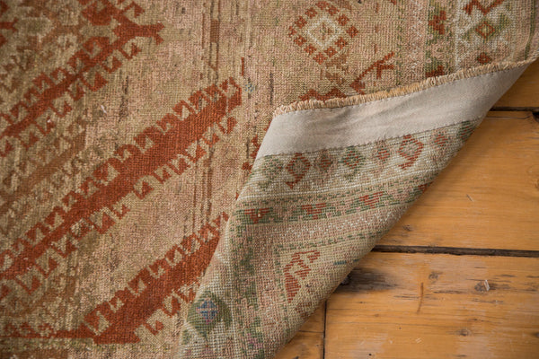 Distressed Vintage Afghani Rug Runner / Item ee002644 image 4