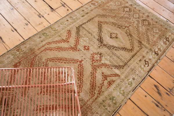 Distressed Vintage Afghani Rug Runner / Item ee002644 image 5