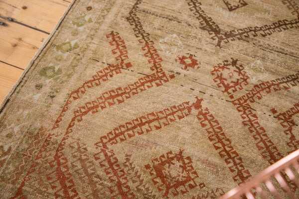 Distressed Vintage Afghani Rug Runner / Item ee002644 image 7