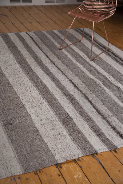7x8.5 Vintage Flatweave Carpet - Old New House
