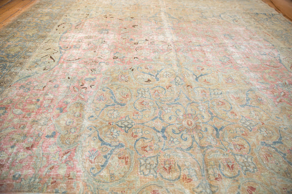 Vintage Distressed Tabriz Carpet / Item ee002713 image 8