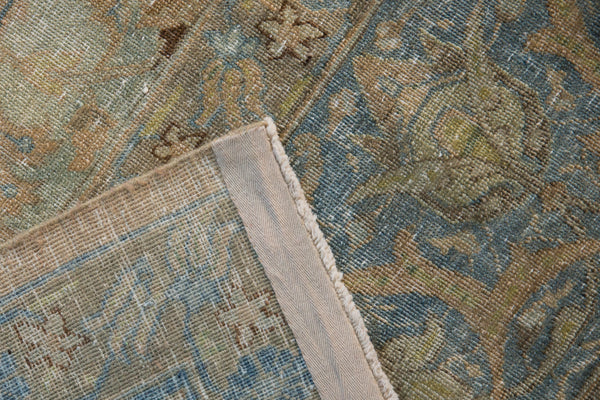 Vintage Distressed Tabriz Carpet / Item ee002713 image 13