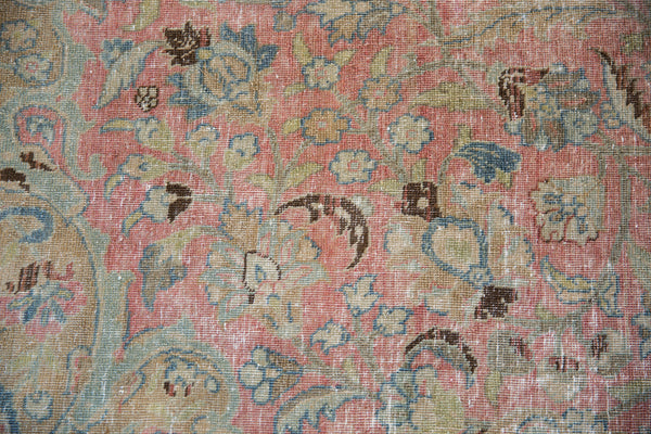 Vintage Distressed Tabriz Carpet / Item ee002713 image 14
