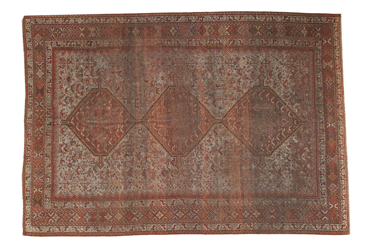 7x10 Vintage Shiraz Carpet // ONH Item ee002747