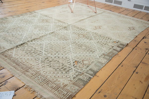 Vintage Distressed Jijim Rug