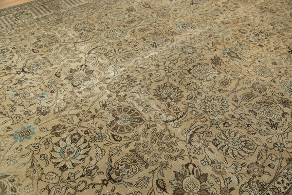 Distressed Tabriz Carpet