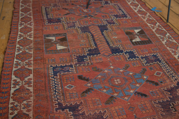 Distressed Afshar Rug