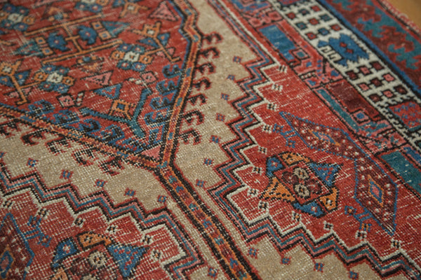 Distressed Antique Serab Rug Runner