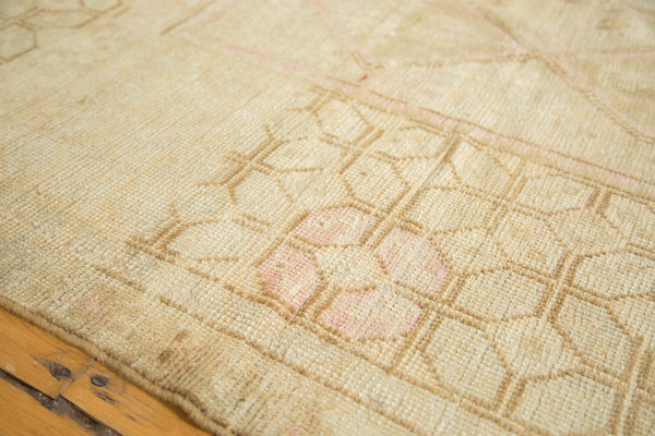 Vintage Distressed Oushak Rug
