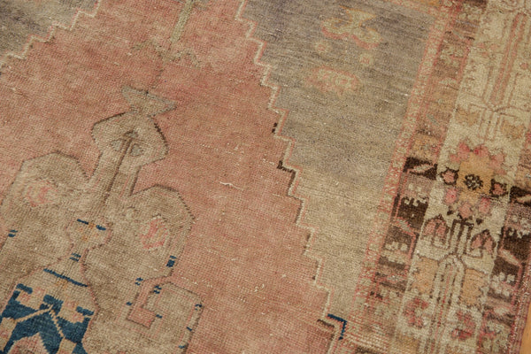 Vintage Distressed Oushak Rug Runner / Item ee002839 image 7