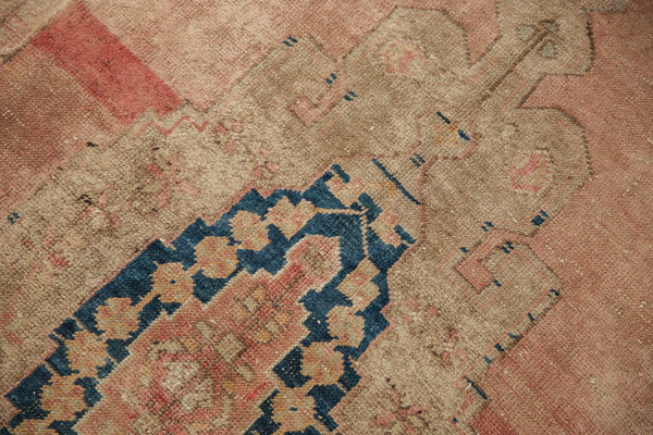 Vintage Distressed Oushak Rug Runner / Item ee002839 image 8