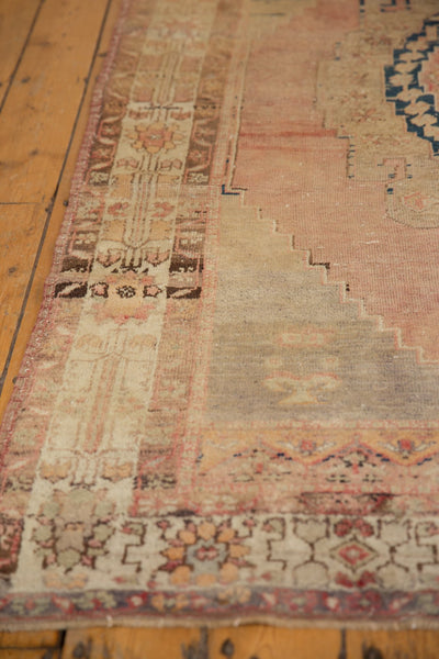 Vintage Distressed Oushak Rug Runner / Item ee002839 image 10