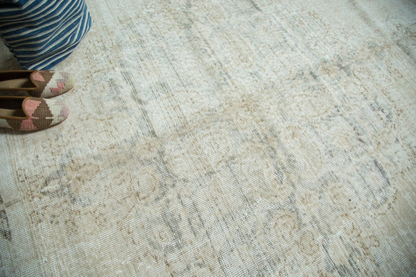 Vintage Distressed Oushak Carpet / Item ee002846 image 2