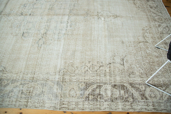 Vintage Distressed Oushak Carpet / Item ee002846 image 5