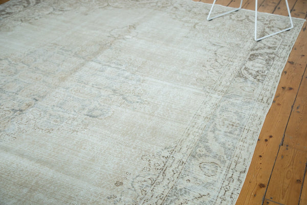 Vintage Distressed Oushak Carpet / Item ee002846 image 6