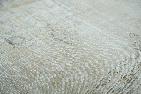 Vintage Distressed Oushak Carpet / Item ee002846 image 7