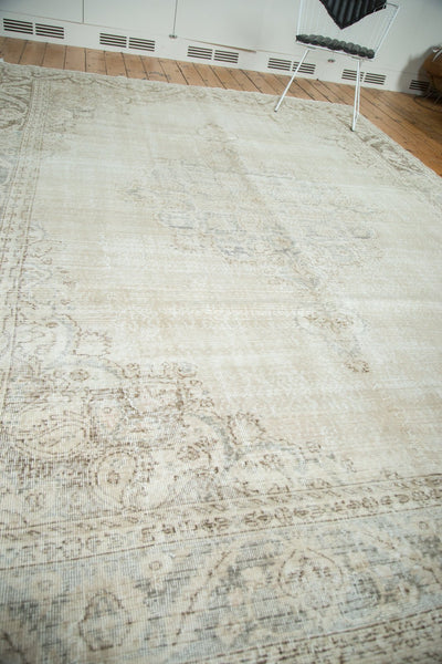 Vintage Distressed Oushak Carpet / Item ee002846 image 9