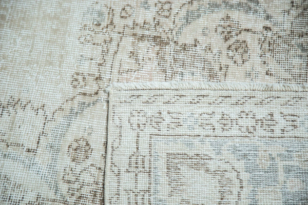 Vintage Distressed Oushak Carpet / Item ee002846 image 11