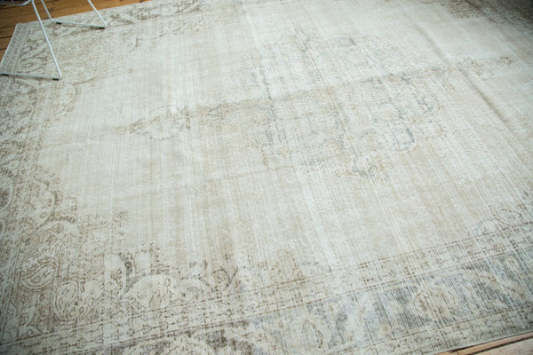 Vintage Distressed Oushak Carpet / Item ee002846 image 12