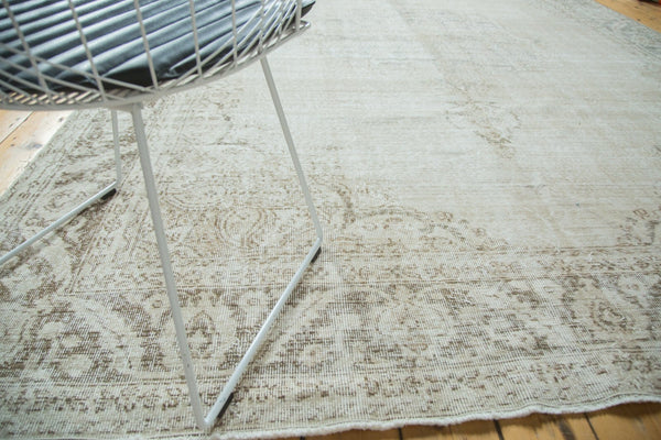 Vintage Distressed Oushak Carpet / Item ee002846 image 15