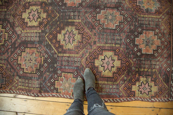 Vintage Distressed Jijim Carpet / Item ee002848 image 2