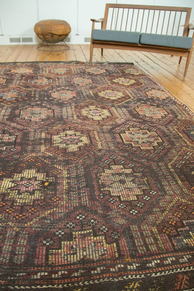 Vintage Distressed Jijim Carpet / Item ee002848 image 3