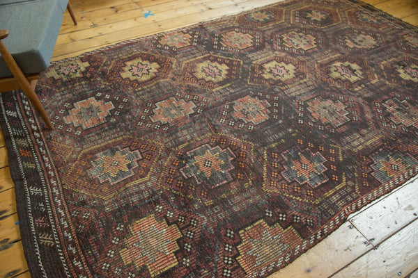 Vintage Distressed Jijim Carpet / Item ee002848 image 8