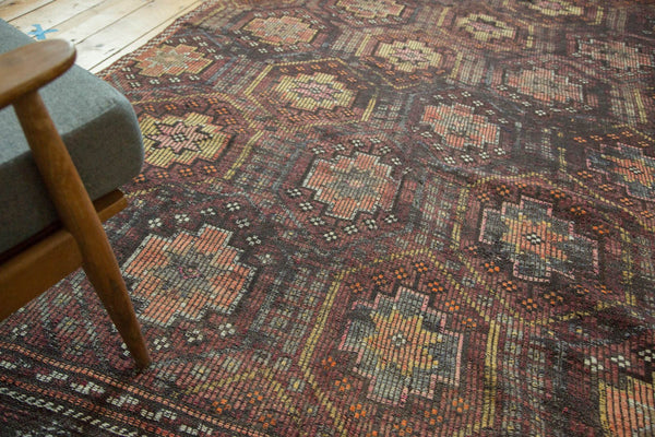 Vintage Distressed Jijim Carpet / Item ee002848 image 11