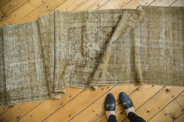Vintage Distressed Malayer Rug Runner