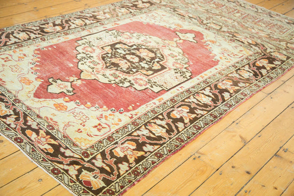 Vintage Distressed Oushak Carpet / Item ee002884 image 3