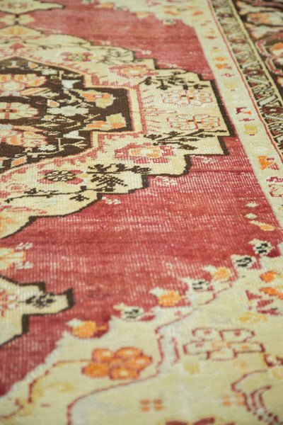 Vintage Distressed Oushak Carpet / Item ee002884 image 5