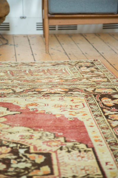 Vintage Distressed Oushak Carpet / Item ee002884 image 6