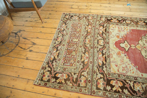 Vintage Distressed Oushak Carpet / Item ee002884 image 7