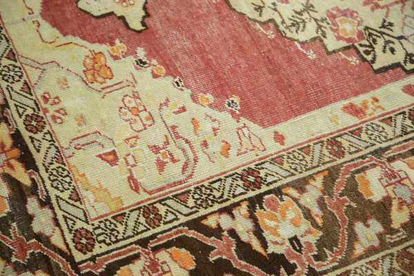 Vintage Distressed Oushak Carpet / Item ee002884 image 8