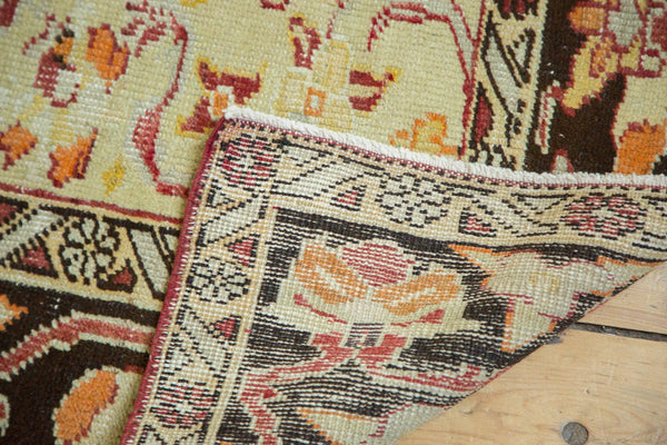 Vintage Distressed Oushak Carpet / Item ee002884 image 9