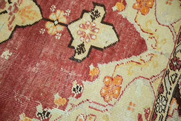 Vintage Distressed Oushak Carpet / Item ee002884 image 10