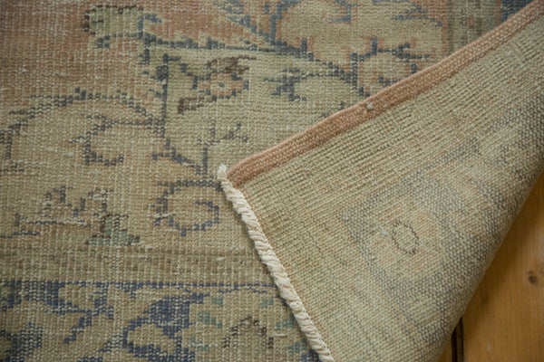 6x9 Vintage Distressed Oushak Carpet - Old New House