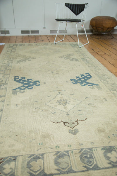 5x11 Vintage Distressed Oushak Rug Runner - Old New House