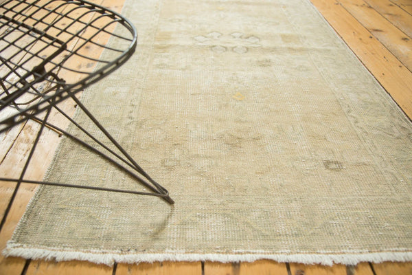 Vintage Distressed Oushak Rug Runner / Item ee002895 image 3