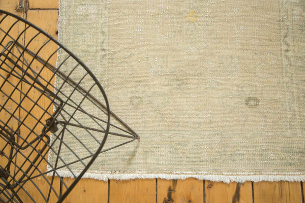 Vintage Distressed Oushak Rug Runner / Item ee002895 image 4