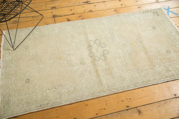 Vintage Distressed Oushak Rug Runner / Item ee002895 image 5