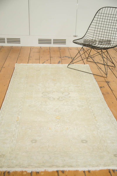 Vintage Distressed Oushak Rug Runner / Item ee002895 image 6