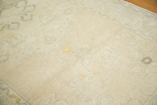 Vintage Distressed Oushak Rug Runner / Item ee002895 image 7