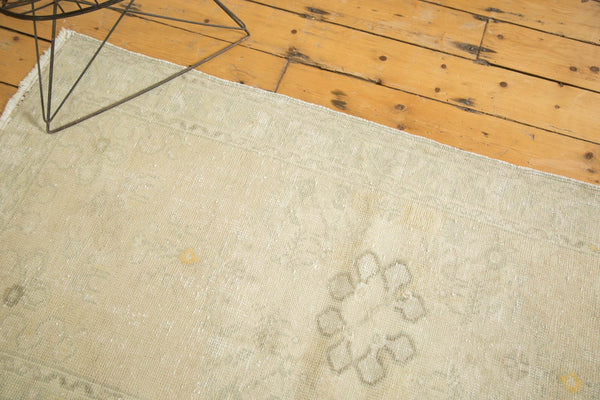 Vintage Distressed Oushak Rug Runner / Item ee002895 image 9