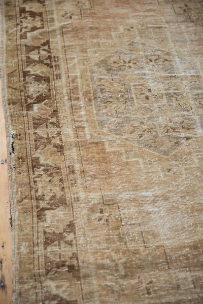 Vintage Distressed Oushak Rug Runner / Item ee002904 image 4