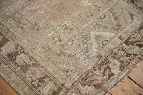 Vintage Distressed Oushak Rug Runner / Item ee002904 image 7